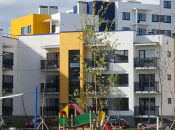 Высота домов 3 и 9 этажей